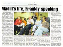 The Examiner - Madill's life, frankly speaking
